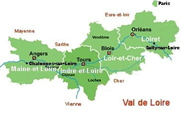 Where to stay in Loire Valley best location