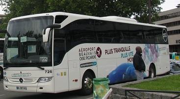 Beauvais to paris for Rer c porte maillot