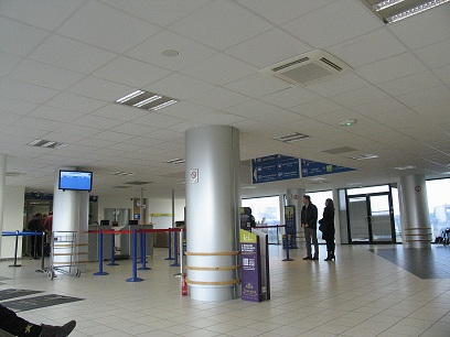 Check-in at Tours Airport