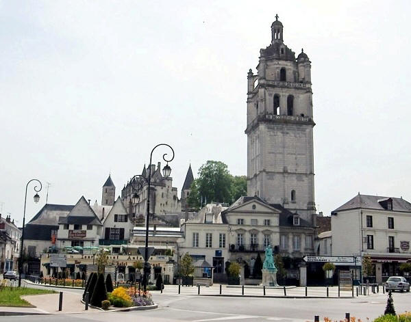 the citadel town of Loches
