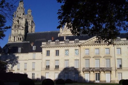 Musee des Beaux-arts in the city of Tours in the Loire Valley