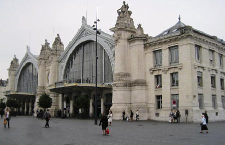 railway station in the city of tours in the loire valley - Pictures Of Tours