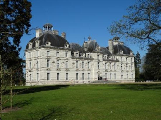 Chateau de Cheverny in the Loire Valley