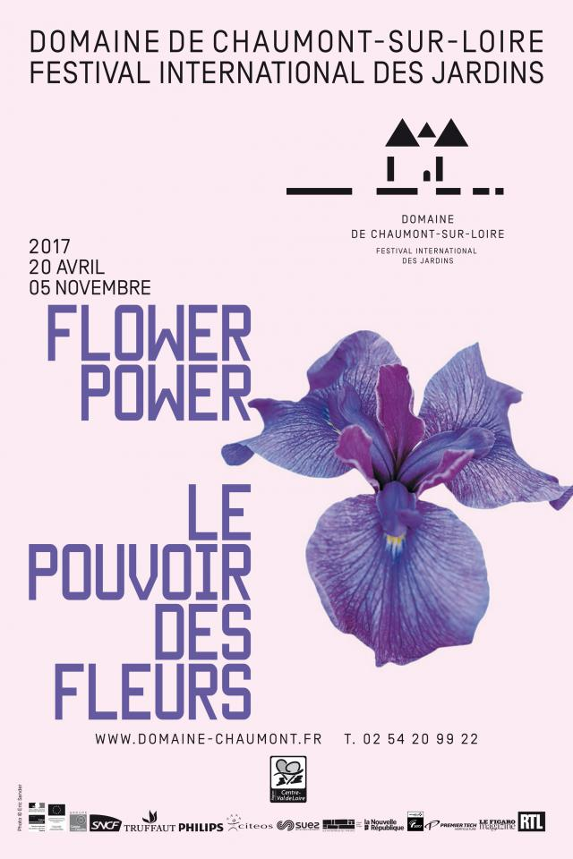 Poster for 2017 Chaumont International Garden Featival