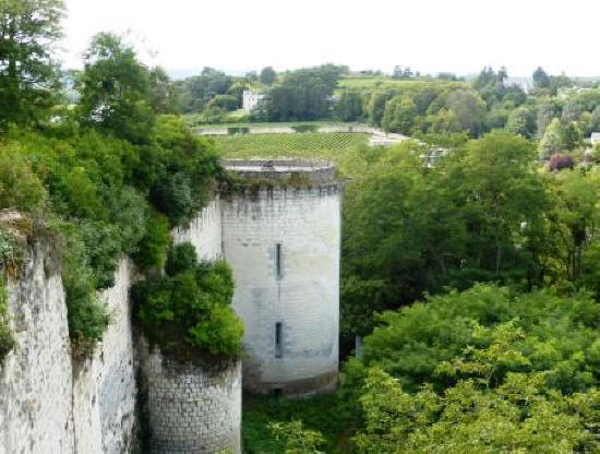 Tour d'Argenton at Fortress Chinon