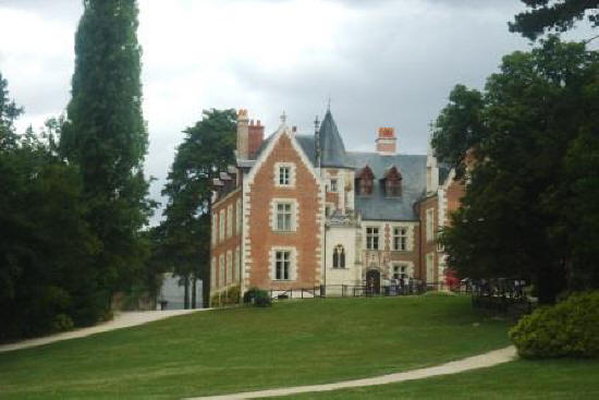 Chateau Clos Luce in Amboise