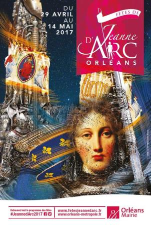 Joan of Arc festival in Orleans France 2017
