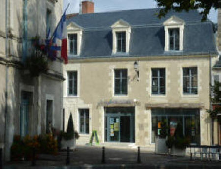 tourist office in Le Grand Pressigny