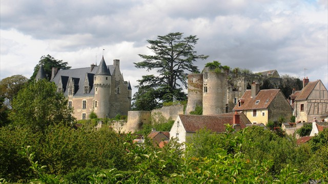 chateau Montresor in the Loire Valley