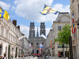 Orleans in the Loire Valley France