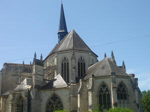 Abbey in the Loire Valley