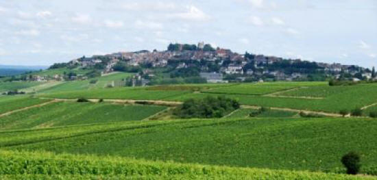 The village of Sancerre in the Loire Valley