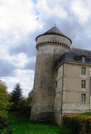Tours chateau in the Loire Valley