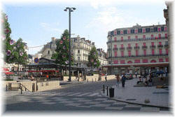 Angers town centre