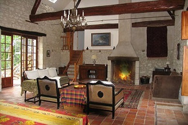 riverside Loire Valley vacation rental